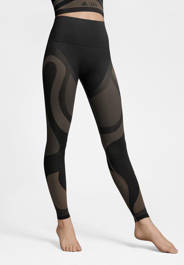Leggings - Hosen - nearly black/black