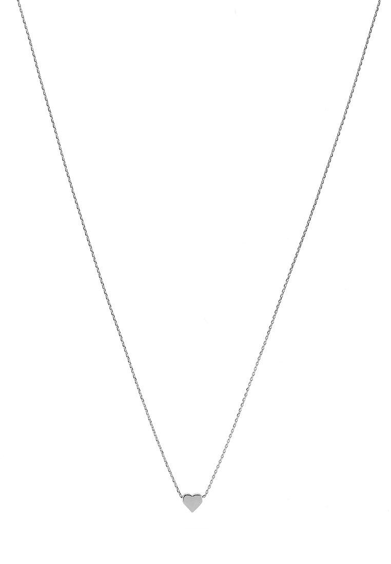 Orelia Thru Heart - Halskette Silver-coloured/silber