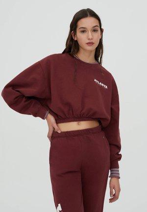 Sweatshirt - bordeaux