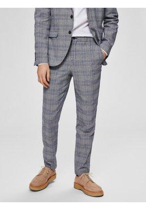 Suit trousers - dark blue 2