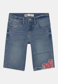 Levi's® - SLIM FIT ECO FLEX  - Denim shorts - dark blue denim - 0