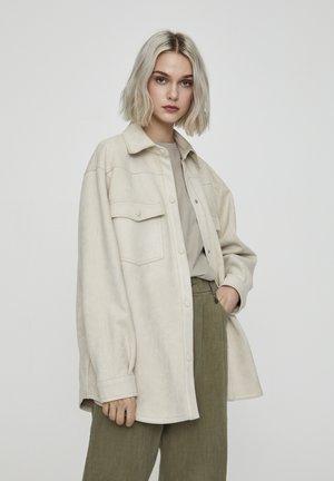 Lehká bunda - beige