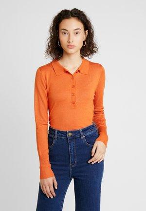 KAMINA ASTRID - Jumper - burnt orange