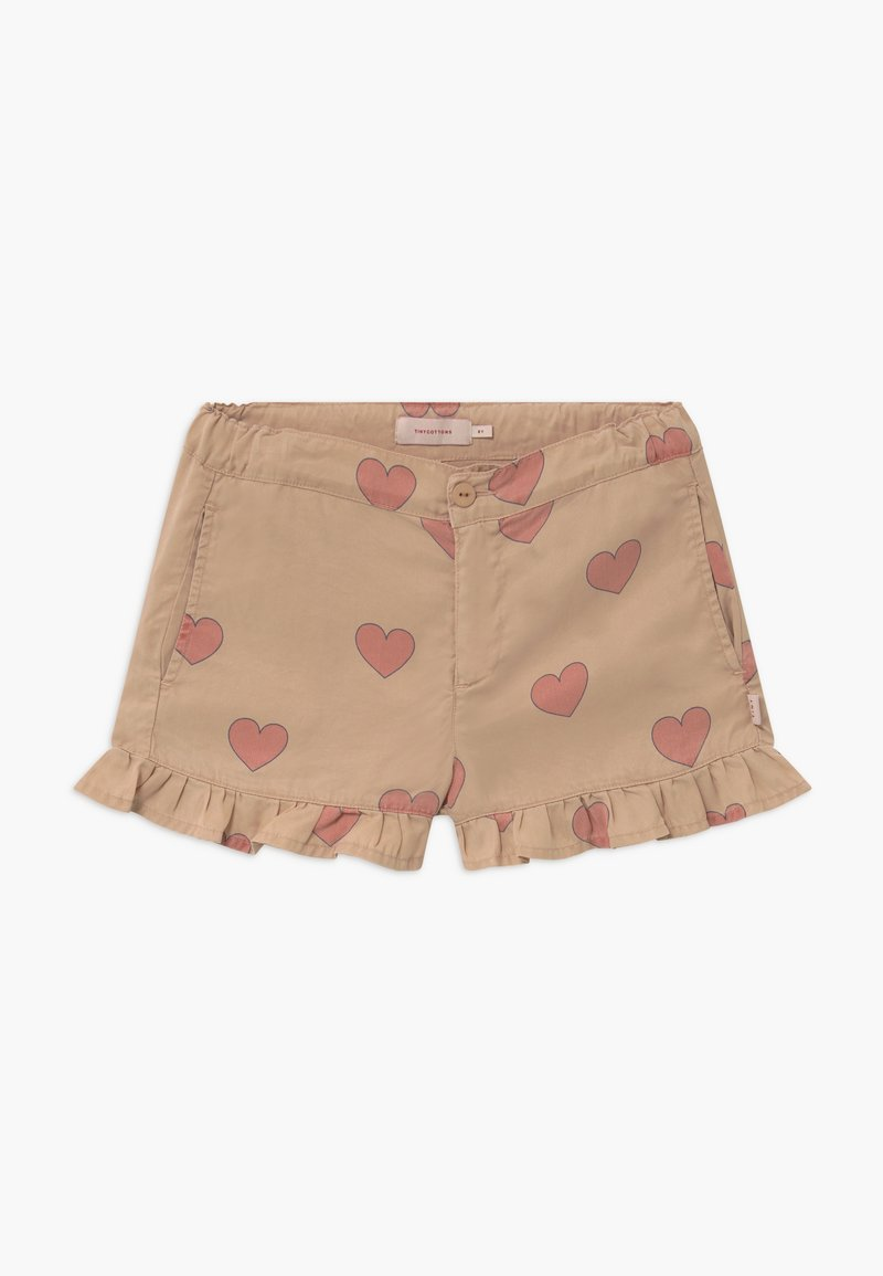 TINYCOTTONS - HEARTS - Kraťasy - nude/red