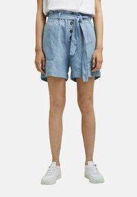 Esprit - Denim shorts - blue light washed - 5