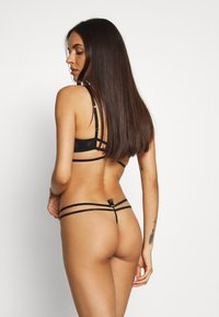 Bluebella - LUMI THONG - Tanga - black - 2