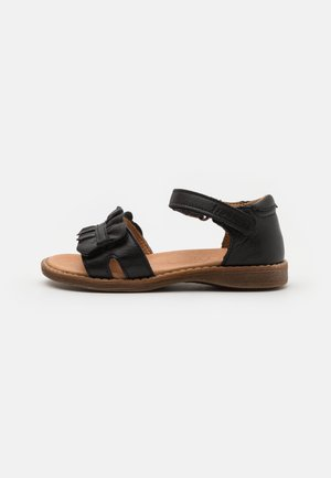 LORE CLOSED HEEL - Riemensandalette - black