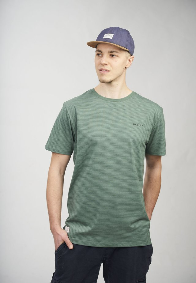 KEITH - T-shirt med print - forest