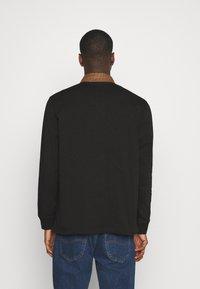 Carhartt WIP - RUGBY POLO - Polo shirt - black/hamilton brown/white - 2