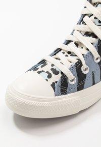 Converse - CHUCK TAYLOR ALL STAR - Baskets montantes - blue slate/black/egret - 5