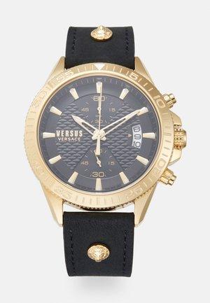 VERSUS GRIFFITH UNISEX - Cronografo - black/gold-coloured
