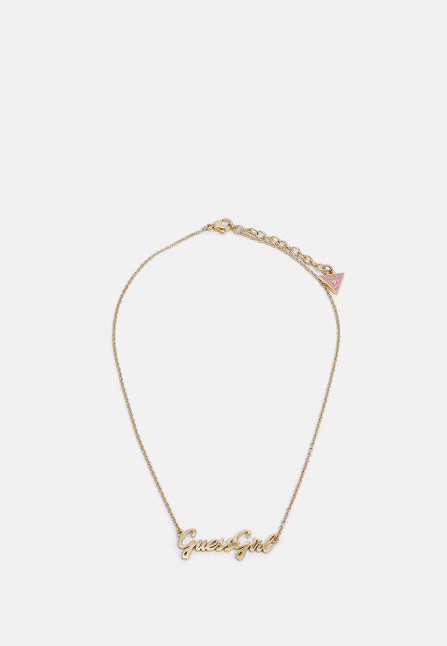 GIRL - Collier - gold-coloured