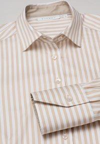 Eterna - Button-down blouse - beige/weiß - 5