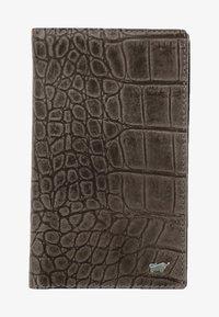 Braun Büffel - LISBOA IN KROKODIL - Wallet - brown - 0