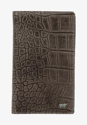 LISBOA IN KROKODIL - Wallet - brown