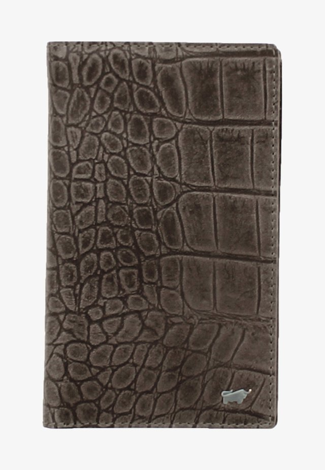 LISBOA IN KROKODIL - Wallet - brown