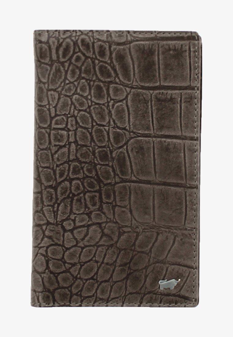 Braun Büffel - LISBOA IN KROKODIL - Wallet - brown
