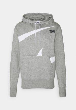 HOODIE - Sweater - grey heather/white