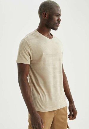 REGULAR FIT - T-shirt - bas - beige