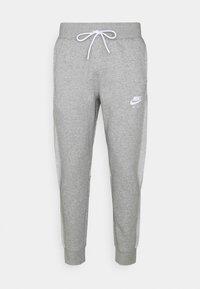 Nike Sportswear - AIR PANT - Tracksuit bottoms - dark grey heather/white - 0
