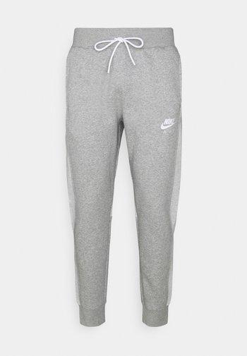 AIR PANT - Pantaloni sportivi - dark grey heather/white