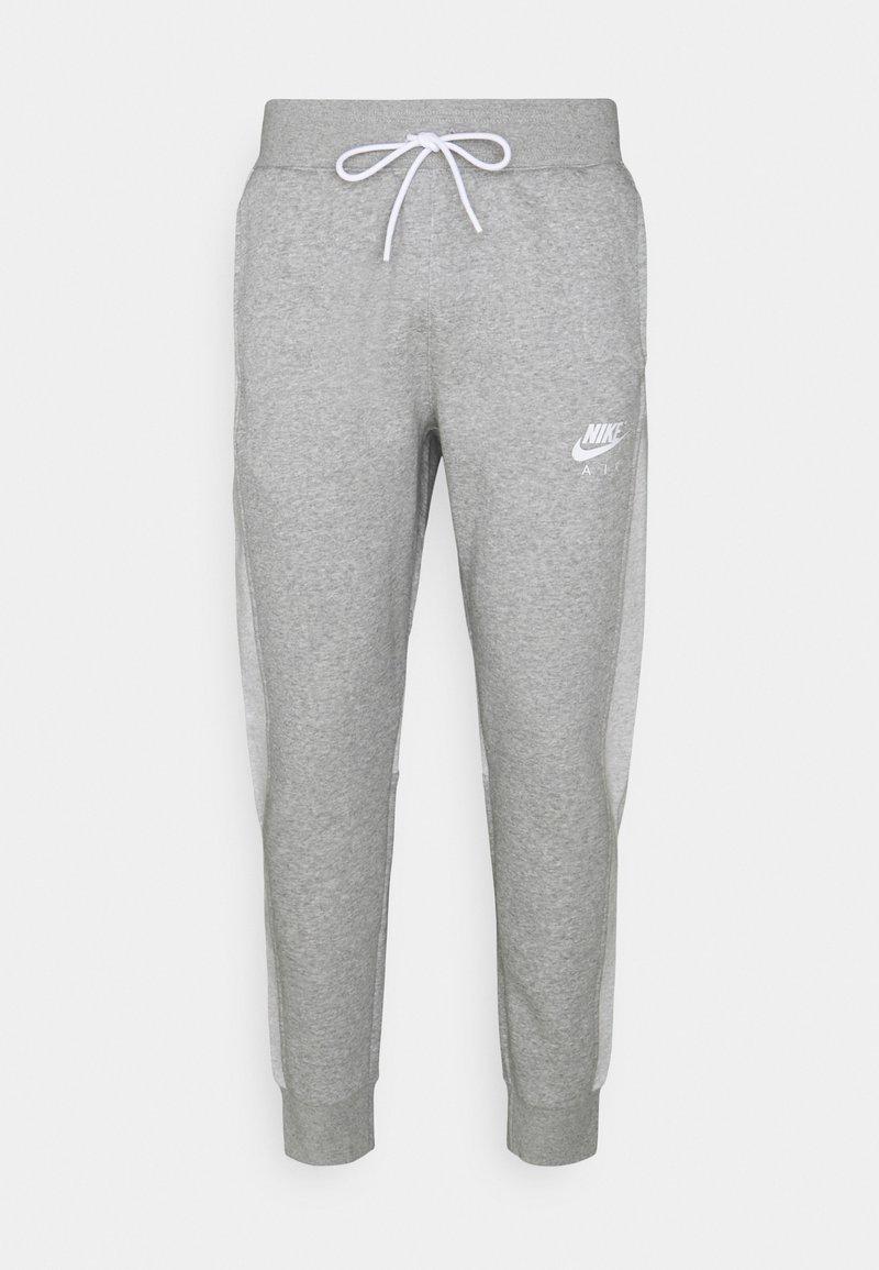 Nike Sportswear - AIR PANT - Tracksuit bottoms - dark grey heather/white