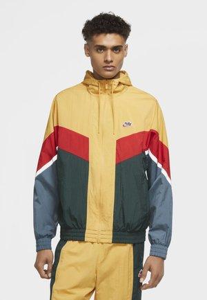 Summer jacket - light ginger/pro green/university red