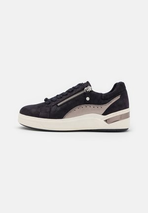 LACE UP - Sneakers basse - navy/pewter