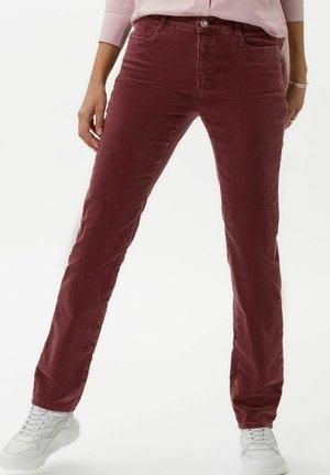 STYLE MARY - Trousers - raisin