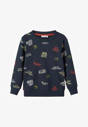 Sweater - dark sapphire