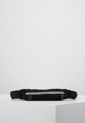 RUN BELT - Bum bag - black/reflektive silver