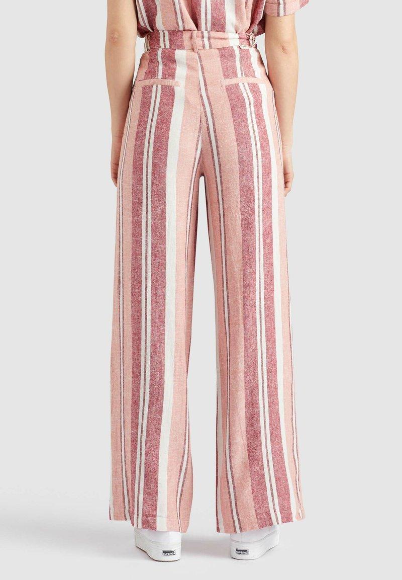 khujo - MAHSALA - Trousers - pink