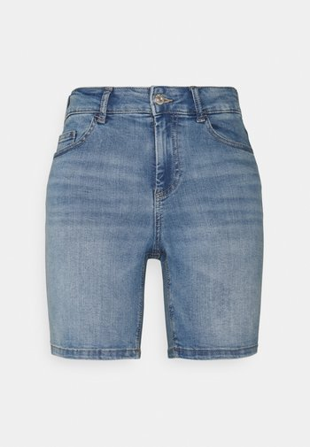 ONLBLUSH MID - Shorts di jeans - light blue denim