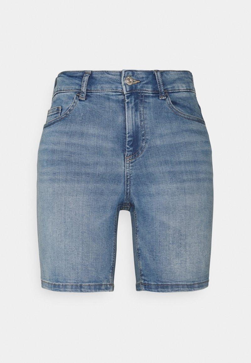 ONLY Tall - ONLBLUSH MID - Shorts di jeans - light blue denim