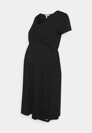 DRESS NURSING - Jersey dress - black