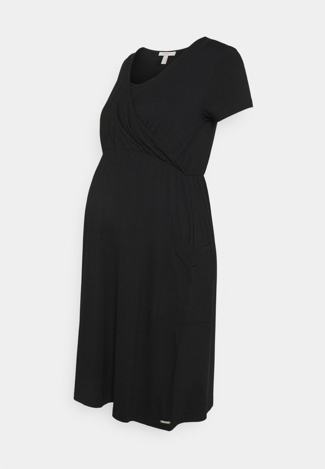 DRESS NURSING - Jerseyjurk - black