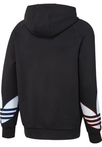 adidas Originals - ADICOLOR TRICOLOR TREFOIL HOODIE UNISEX - Luvtröja - black - 8