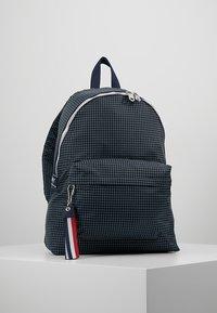 Tommy Jeans - LOGO TAPE RIPSTOP BACKPACK - Plecak - blue - 0