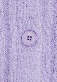 New Look - FLUFFY - Cardigan - lilac - 2