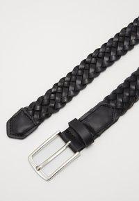 Jack & Jones - JACCOLE BRAIDED BELT - Belt - black - 3