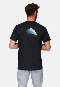 Mammut - TROVAT  - T-Shirt print - black - 1