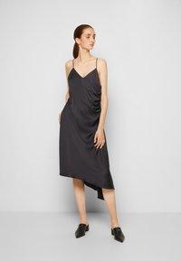 MM6 Maison Margiela - DRESS - Cocktail dress / Party dress - black - 0
