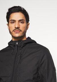 TOM TAILOR DENIM - CLEAN SUMMER JACKET - Summer jacket - black - 4