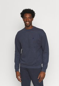 pinqponq - UNISEX - Sweater - currant blue - 0