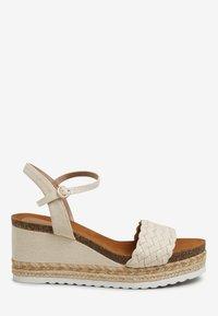 Next - Platform sandals - off-white - 4