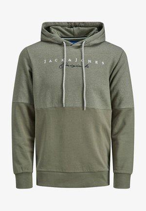 JORTRAILER HOOD - Sweatshirt - dusty olive