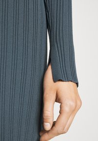 Proenza Schouler White Label - ZIP CARDIGAN DRESS - Strickkleid - petrol - 5