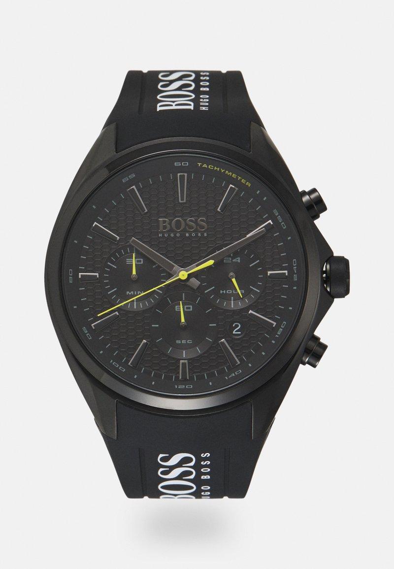 BOSS - DISTINCT - Kronografklokke - black