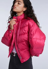 SET - Winter jacket - pink - 4