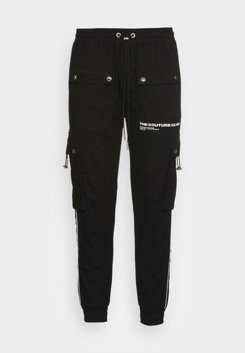DEFINITION PIPED PANT - Kapsáče - black